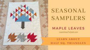 Seasonal Sampler Maple Leaves