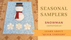 Seasonal Sampler-Snowman