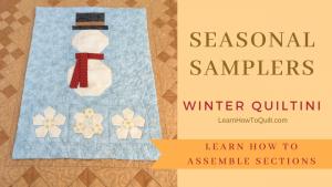 Seasonal Samplers - Winter Quiltini
