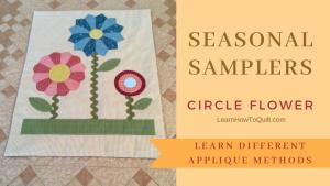 Seasonal Samplers CIRCLE FLOWERS