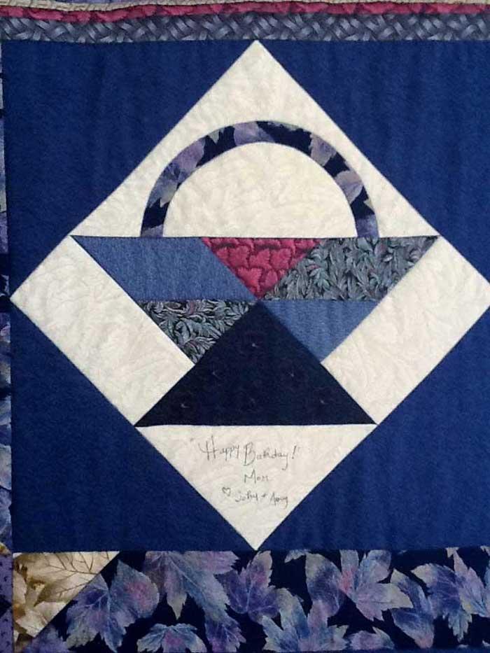mom's basket quilt